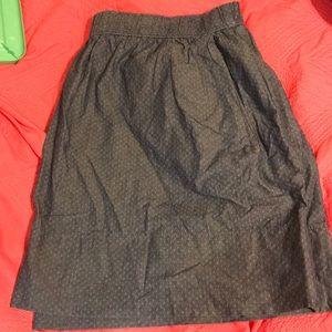 Gap Chambray Mini Skirt. Size XL